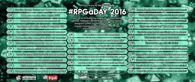 RPGaDay 2016