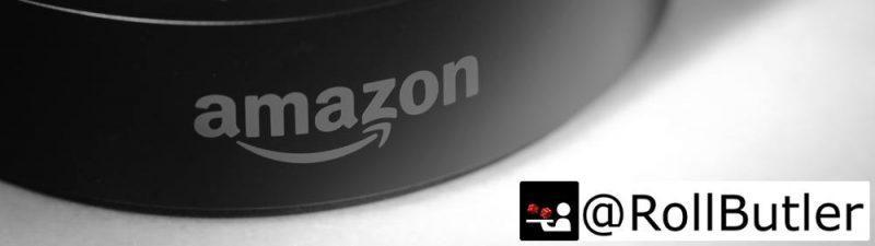 Amazon Echo mit RollButler Logo