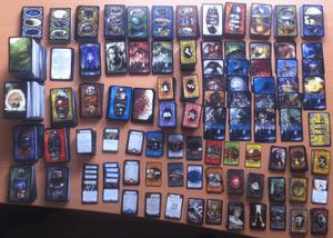 Massenhaft Karten - alle Spielkarten aus Arkham Horror