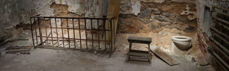 Alte Gefängniszelle
