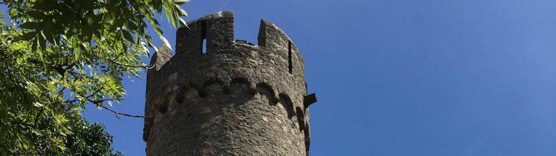 Festungsturm der Starkenburg